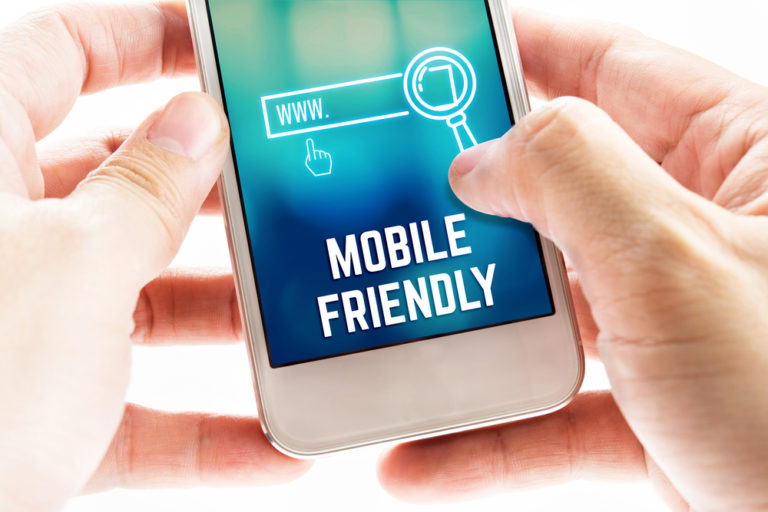 mobile friendly responsive design for your new website